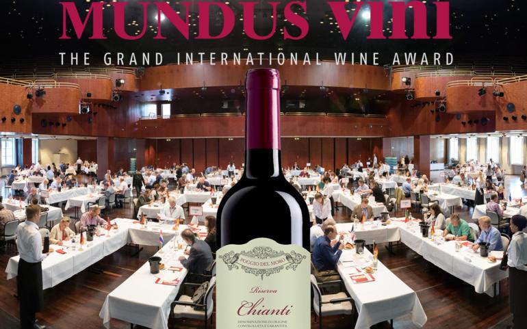 Chianti Colli Senesi Riserva 2013 is the GOLD winner and *** BEST OF SHOW CHIANTI RISERVA*** of the 20th Grand International Wine Award MUNDUS VINI 2017!
