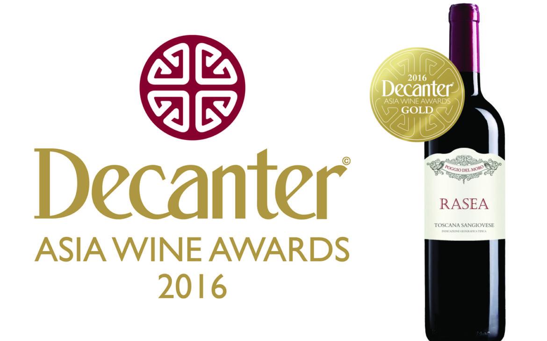 """RASEA"" 2012 is the GOLD winner of the Decanter Asia Wine Awards 2016 (DAWA)!"