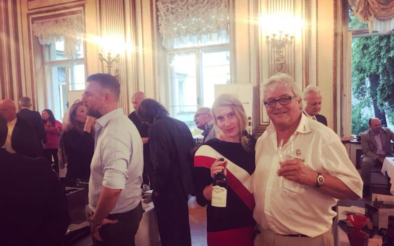 Grande successo per i vini di Poggio del Moro all'Ambasciata d'Italia a Vienna