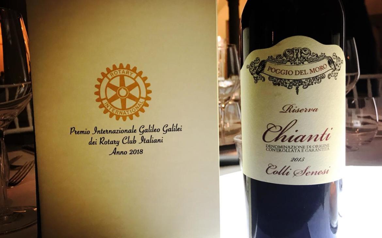 (Italiano) I vini di Poggio del Moro protagonisti al Premio internazionale Galileo Galilei dei Rotary club italiani