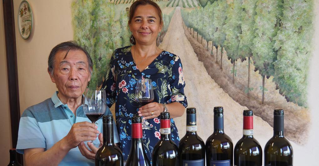 Aziende vitivinicole toscane con il cuore in Russia e Giappone